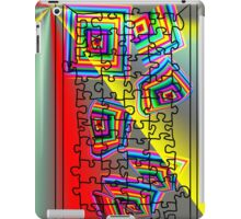 A Puzzle the path of life iPad Case/Skin