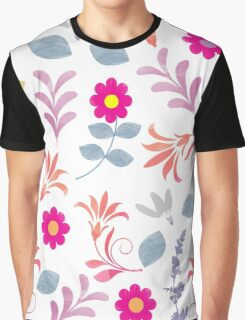 Flower Pattern II Graphic T-Shirt