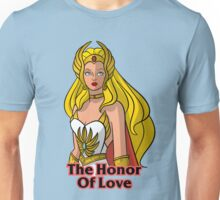 "He-Man She-Ra ""Honor of Love"" Unisex T-Shirt"