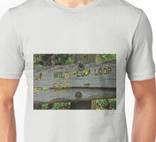 Trail sign- Pacific Crest Trail Unisex T-Shirt