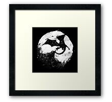 Midnight Desolation Framed Print