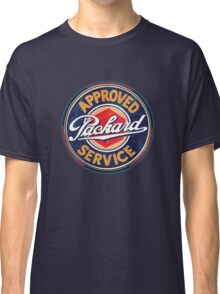 Vintage Packard Service Sign Classic T-Shirt