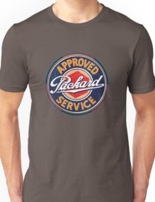 Vintage Packard Service Sign Unisex T-Shirt