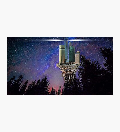 Shang High Space Station Photographic Print