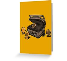 Pancakes Solarium Greeting Card
