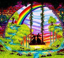 swinging bunnies by BUDDYFORME