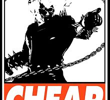 Ghost Rider Cheap Obey Design by SquallAndSeifer