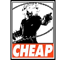 Ghost Rider Cheap Obey Design Photographic Print