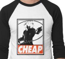 Ghost Rider Cheap Obey Design Men's Baseball ¾ T-Shirt