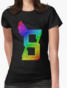 MLP - Cutie Mark Rainbow Special – Crystal Prep Shadowbolts Womens Fitted T-Shirt