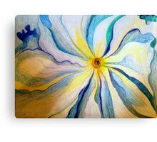 Georgia O'Keeffe Flower Replica  Canvas Print