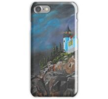 Bass Harbour iPhone Case/Skin