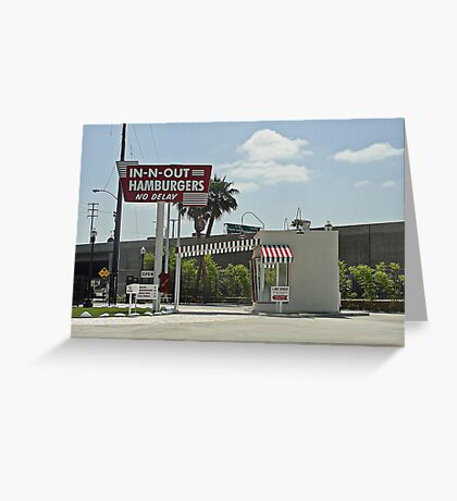 Original In-n-out Location Greeting Card