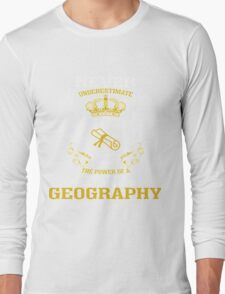 GEOGRAPHY Long Sleeve T-Shirt