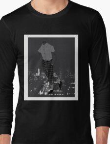 grey boy Long Sleeve T-Shirt