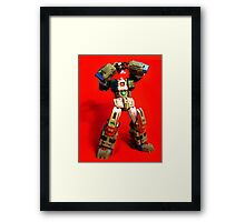 Heads will ROLL OUT! Framed Print
