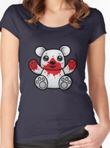 Polar Bear Cub First Kill Women's Fitted Scoop T-Shirt