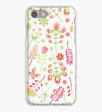 Flower summer. iPhone Case/Skin