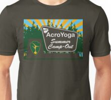 NW AcroYoga Summer Campout - Brown Unisex T-Shirt