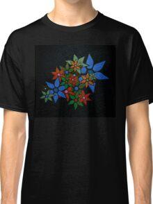 Retro Trendy Floral Pattern Classic T-Shirt