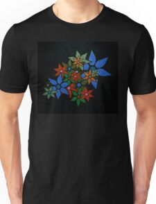 Retro Trendy Floral Pattern Unisex T-Shirt