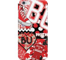 Boston University Collage iPhone Case/Skin