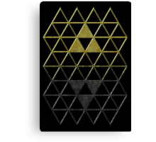 A Link Between Triforces Canvas Print