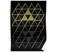 A Link Between Triforces Poster