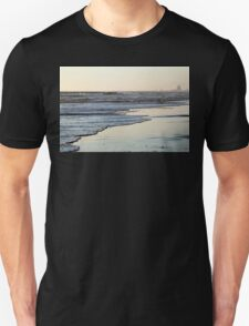 Beach Sunset Ormond Beach Unisex T-Shirt