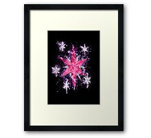 Twilight Sparkle CM Splatter Framed Print