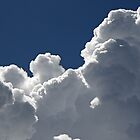 Billowing Thunder Clouds Readying for a Cloudburst by hortiphoto