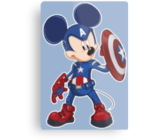 Captain Mickey Metal Print