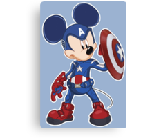 Captain Mickey Canvas Print