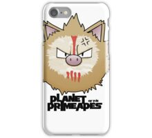Planet of the Primeapes iPhone Case/Skin