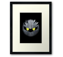 Meta Knight Mask Framed Print