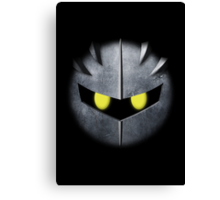 Meta Knight Mask Canvas Print
