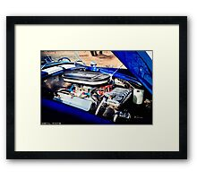 Cobra engine Framed Print