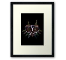 Ornate Majora's Mask Framed Print