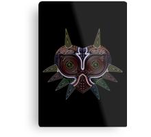 Ornate Majora's Mask Metal Print