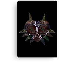 Ornate Majora's Mask Canvas Print