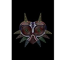 Ornate Majora's Mask Photographic Print