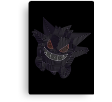Ornate Gengar Canvas Print