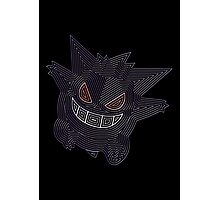 Ornate Gengar Photographic Print