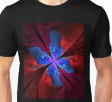 Blue butterfly Unisex T-Shirt