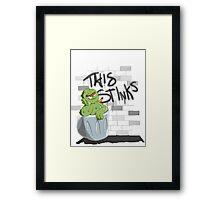 This Stinks! Framed Print