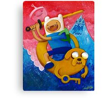 Adventure Time Finn & Jake Canvas Print