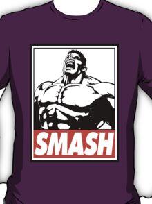 Hulk Smash Obey Design T-Shirt
