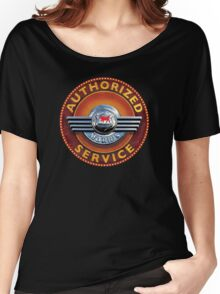 Morris Authorized service sign Women's Relaxed Fit T-Shirt