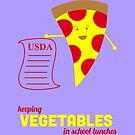 Pizza Is A Vegetable by rhodyownsthis