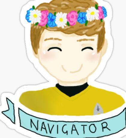 The Navigator Sticker